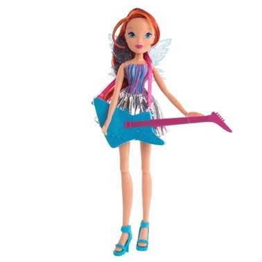 Winx Winx Fairy Rock Bloom  Renkli